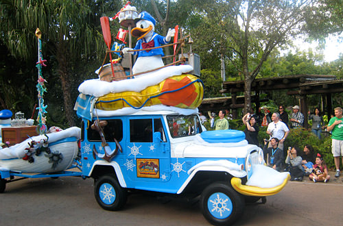 Animal Kingdom: Donald Duck Car