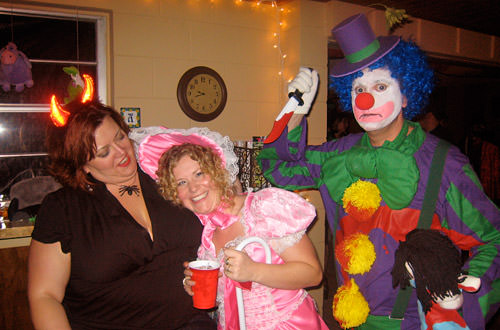 Dave Clown Murders Miss Britt!