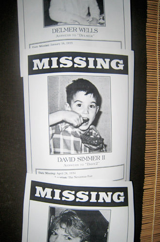 Dave Missing Child Poster