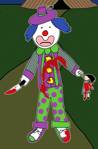 Murder Clown by Avitable