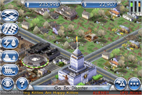 Sim City Screen Capture