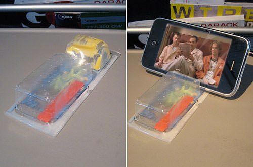 iPhone Cracker Holder