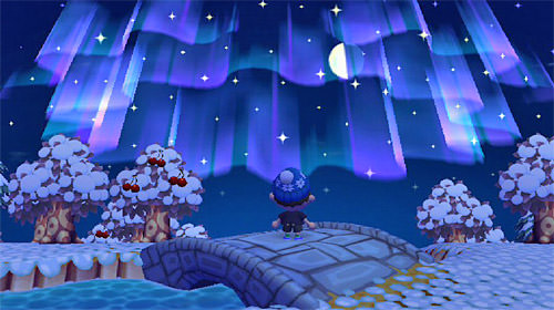Animal Crossing Aurora Borealis