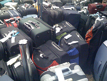 Sea of Luggage!