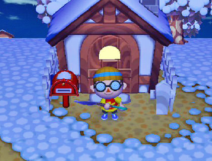 Animal Crossing Dave2 House