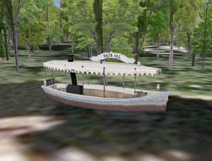 Google Earth Jungle Cruise Boat