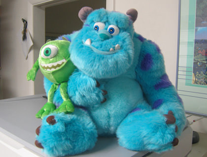 Sully and Mike Plush