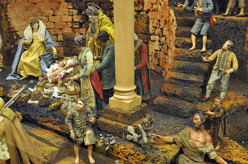 Birth of Jesus Diorama