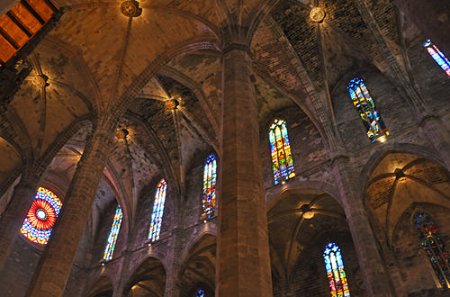 Inside the Palma Cathedral