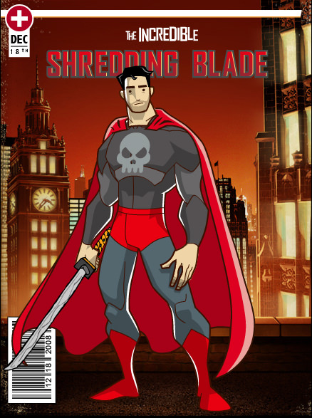 My Hero: The Shredding Blade!