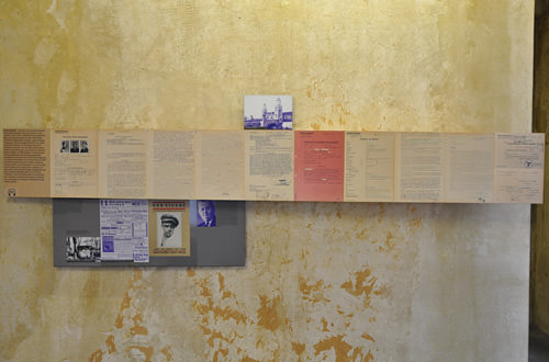 Documentation Wall
