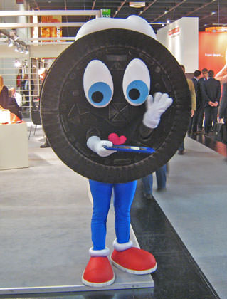Oreo Cookie Man!