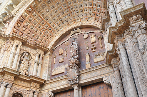 Palma Cathedral Doorway