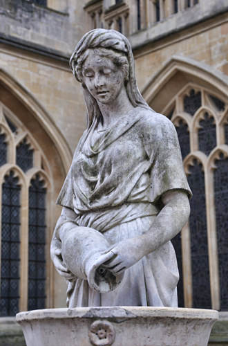 Bath Abbey Statue