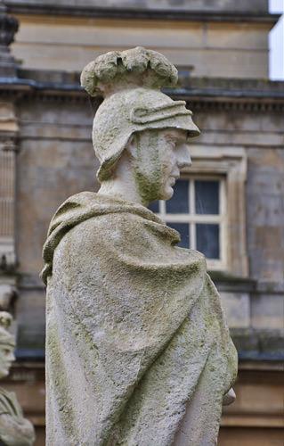 Bath Roman Statue