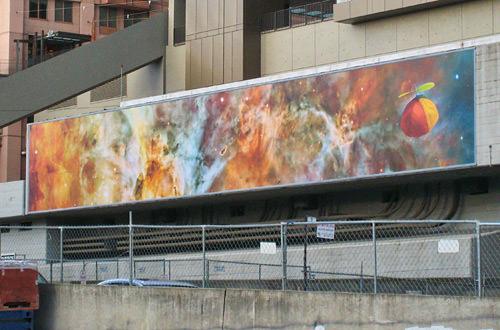 Cosmic Beanie Mural