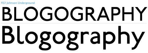 Underground Typeface