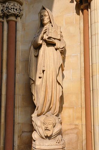 Vicious Nun Statue