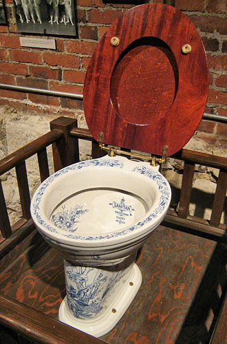 Porcelain Crapper Toilet