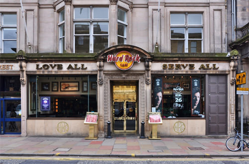 Edinburgh Hard Rock Cafe