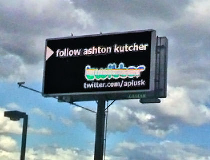 Follow Ashton Billboard