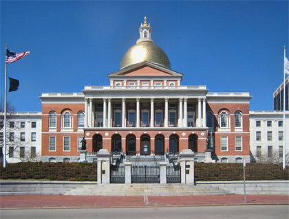 The State House at Boston Common