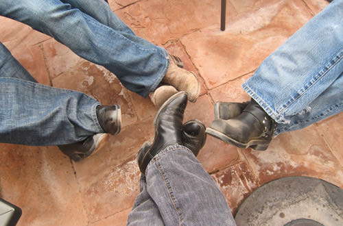 TQ2009 Planning Posse Boots