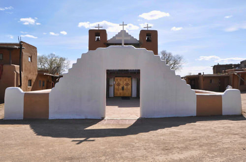 Taos Pueblo Village Church