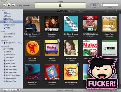 iTunes Fuckers!