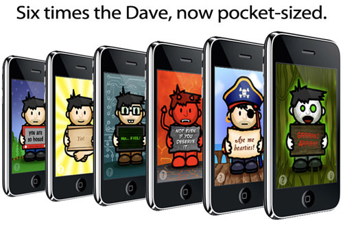 Ask Dave! App Ad