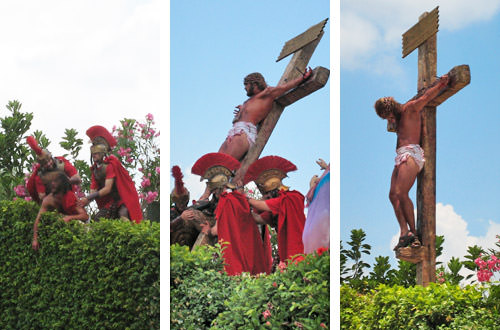 Holy Land Crucifixion