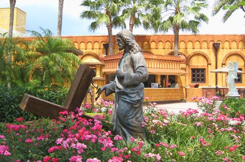 Holy Land Jesus Statue