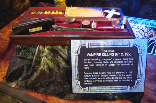 Ripley's Vampire Killing Kit with Cross and Holy Water
