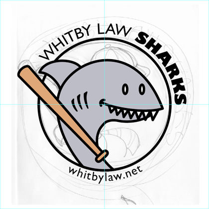 Whitby Law Sharks adding type
