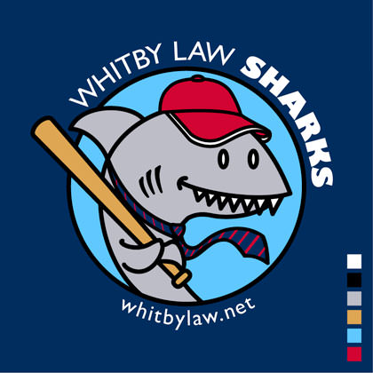 Whitby Law Sharks with red