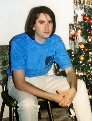 Dave with Long Hair