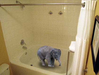 Giant Bathtub!