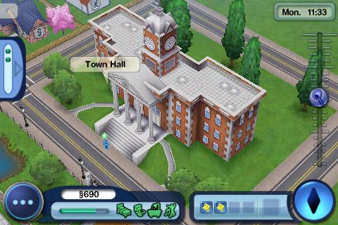 Sims3: Visiting Town
