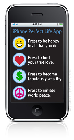 iPhone Perfect Life App