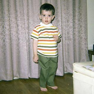 Dave in Stripes