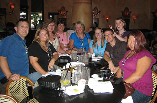 Everybody except Julie at Davelanta 3