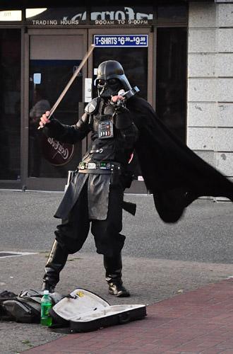 Darth Vader Fiddles!