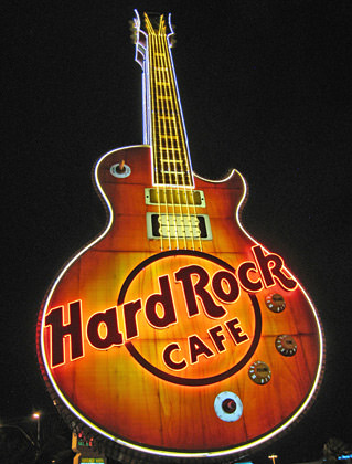 Hard Rock Cafe Vegas Guitar