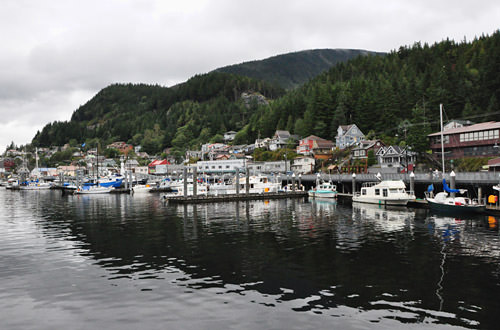 Back in Ketchikan