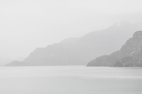 Mists on Glacier Bay