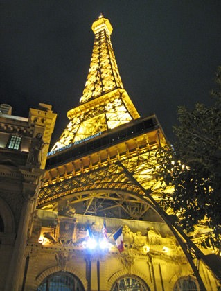 Paris Las Vegas Eiffel Tower