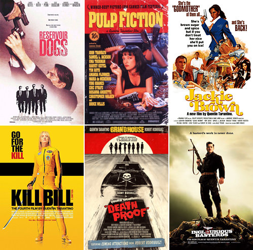 Tarantino Movie Posters