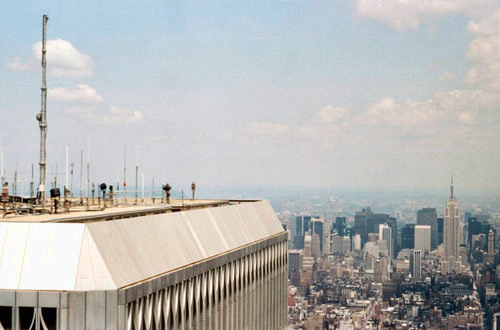 On top of the World Trade Center