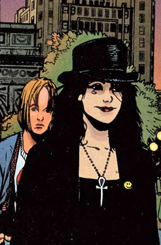 Death Drawn by Chris Bachalo