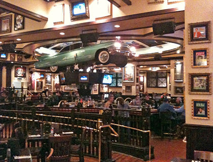Hard Rock Cafe Baltimore Interiror
